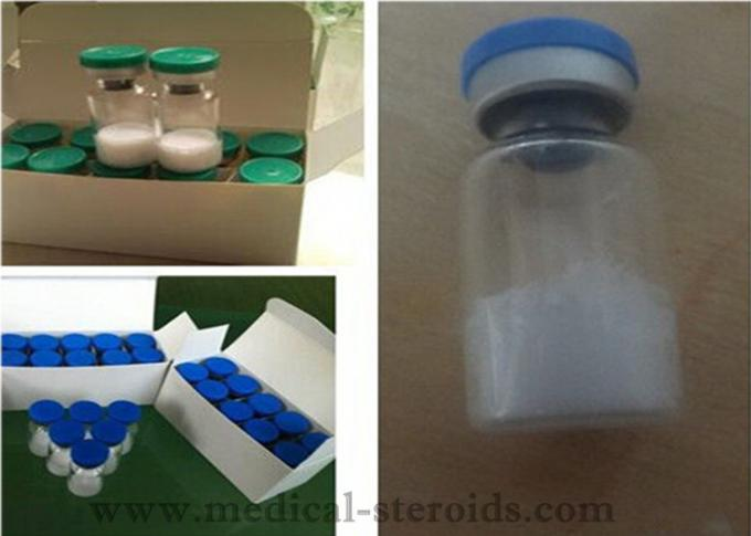 Tesamorelin 218949-48-5 Human Growth Hormone HGH powder 2 Mg / Vial for bodybuilding