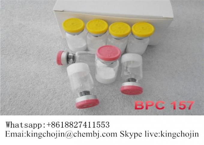 Pentadecapeptide BPC 157 Peptides Muscle Gain CAS 137525-51-0 White Powder
