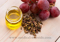 China Yellow Oild Liquid Grapeseed Oil For Cooking Cosmetics And Dissolved Steroid factory