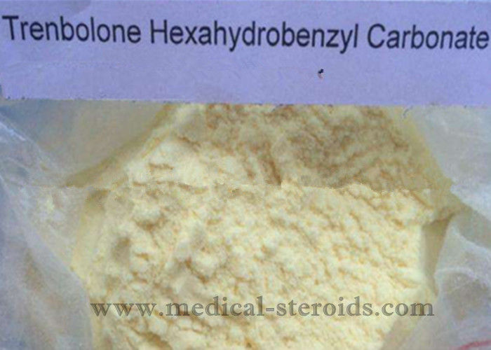 Powerful Muscle Building Tren Anabolic Steroid Trenbolone Hexahydrobenzyl Carbonate Factory Price