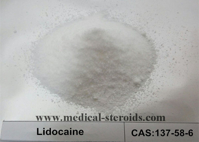 CAS 137-58-6 Local Anesthetic Drugs Pharmaceutical Raw Materials Lidocaine