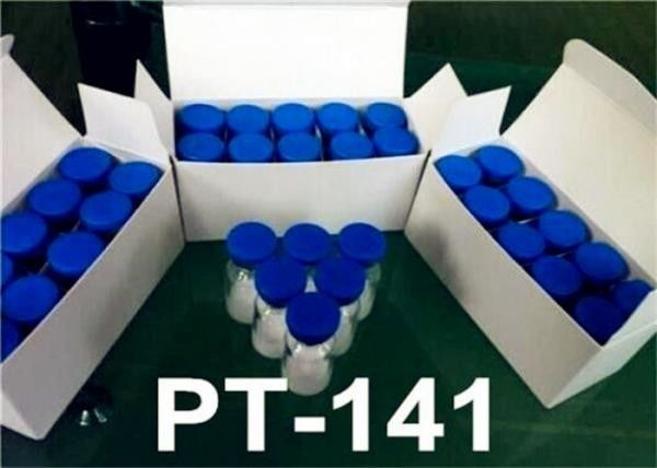 Legal Peptide Bremelanotide Powder PT-141/PT141 (10mg/vial) Human Growth Hormone Releasing Peptides
