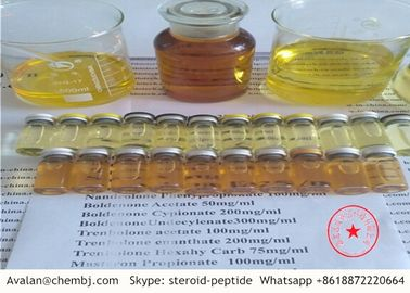 China Testosterone Blend Injection Testoviron Premade Finished OIl 130 Mg/Ml For Musles Building distributor